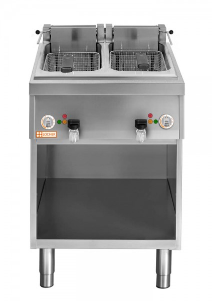 LOCHER Stand-Fritteuse 2 x 12 Liter, 16 kW 216511 by BERNER