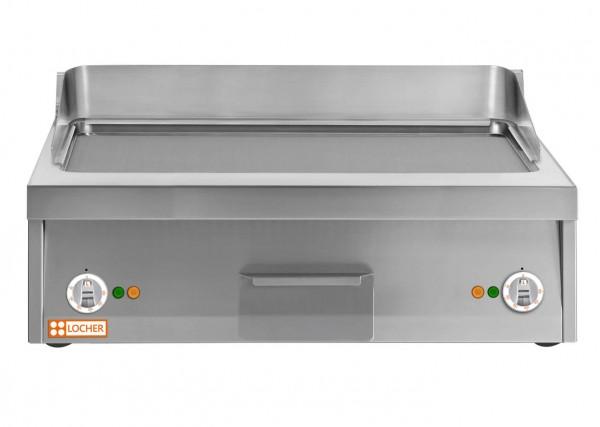 Grillplatte 800 glatt, Tischgerät, Bratfläche Stahl LOCHER 216443 by BERNER