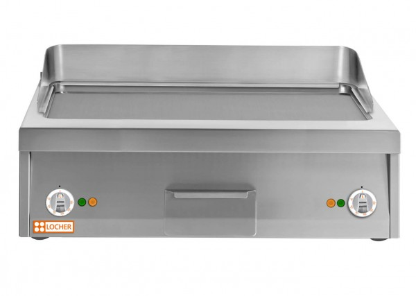 LOCHER Griddleplatte 800 Stahl glatt 216433 by BERNER vergleichbar BGAH80