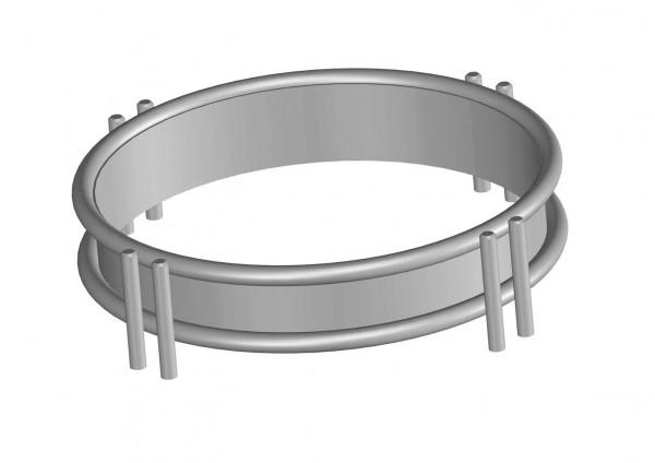 LOCHER Wok Ring 209100 by BERNER Kochsysteme für Flex 600 - 650 - 700