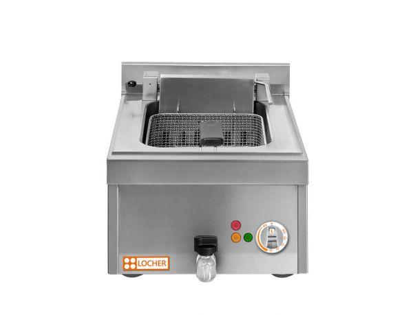 Tisch-Fritteuse, 10 kW, 1x12 Liter LOCHER 216506 by Berner